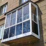 Пластиковые балкон