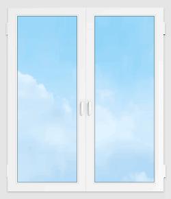 Пластиковое окно 1300*1400
